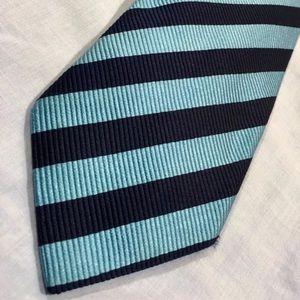 Nordstrom Classic Stripes Blue Rep Tie